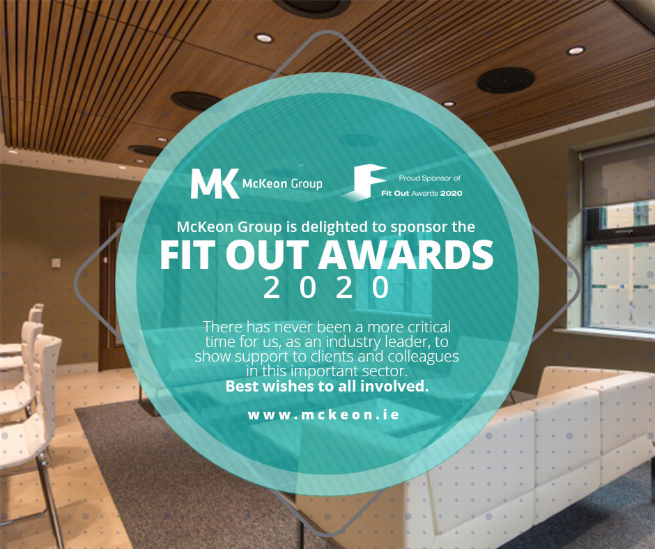 McKeon Group: Proud Sponsor of the Fit Out Awards 2020